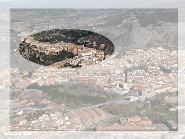 Vista aérea de Cuenca